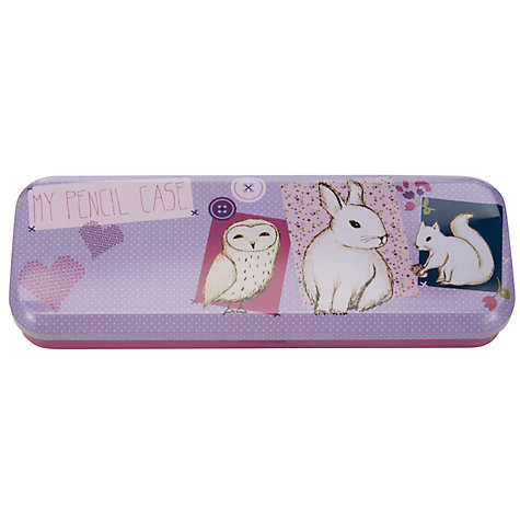 Buy John Lewis Girl Animal Pencil Case Online at johnlewis.com