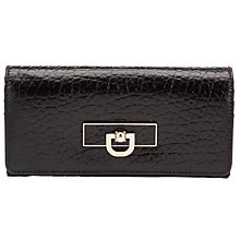 Buy DKNY French Grain Large Carryall Purse, Black Online at johnlewis.com