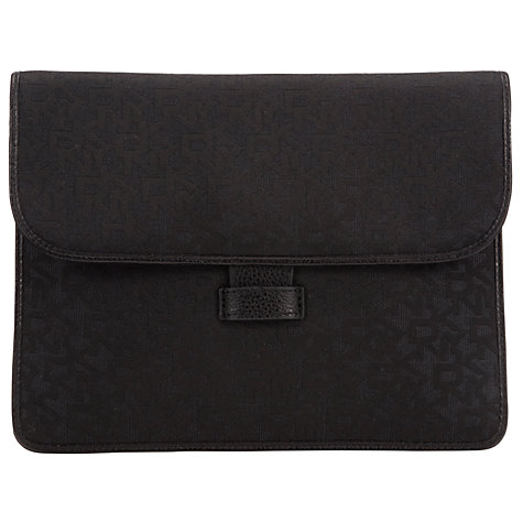 Buy DKNY Town & Country Classics iPad Mini Case, Black Online at johnlewis.com