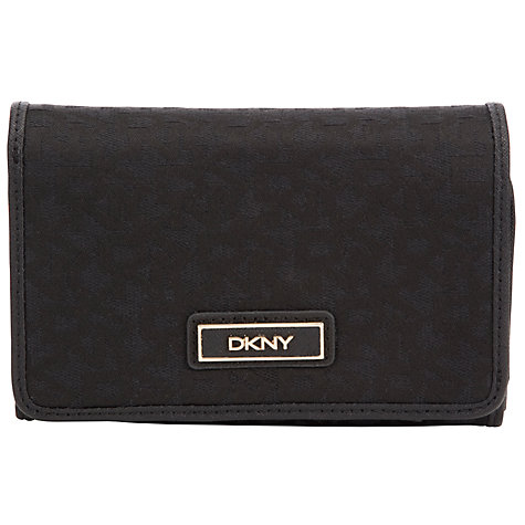 Buy DKNY Town & County Medium Fold Over Carryall, Black Online at johnlewis.com