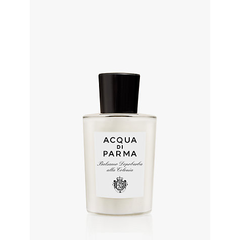 Buy Acqua di Parma Colonia Aftershave Balm, 100ml Online at johnlewis.com