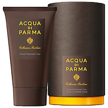 Buy Acqua di Parma Facial Collezione Barbiere Cleanser Scrub, 150ml Online at johnlewis.com