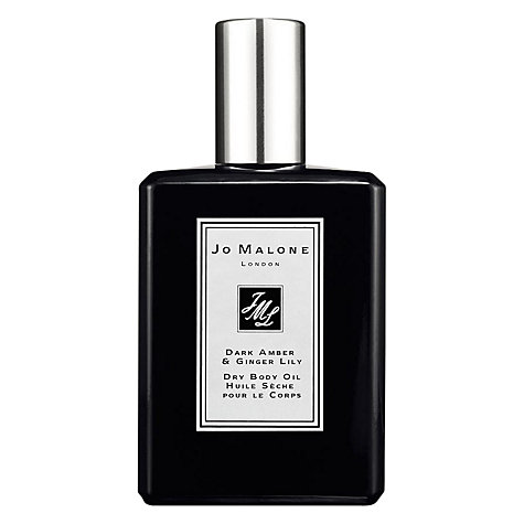 Buy Jo Malone Body Oil Dark Amber & Gin Dry Body Oil, 100ml Online at johnlewis.com