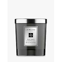Buy Jo Malone London Intense Dark Amber & Ginger Lily Home Candle, 200g Online at johnlewis.com