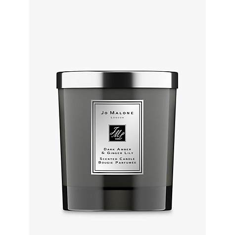Buy Jo Malone Intense Dark Amber & Ginger Lily Home Candle, 200g Online at johnlewis.com