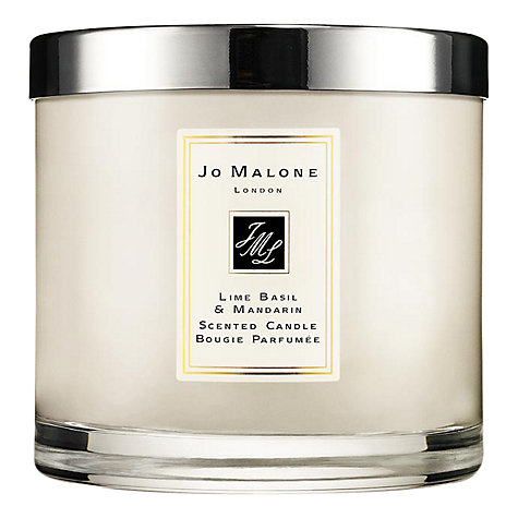 Buy Jo Malone™ Lime Basil & Mandarin Deluxe Candle, 600g Online at johnlewis.com