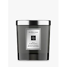 Buy Jo Malone Cologne Intense Oud & Bergamot Home Candle, 200g Online at johnlewis.com