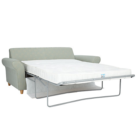Buy John Lewis Gershwin Large Sofa Bed with Pocket Sprung Mattress, Freya Eau de Nil Online at johnlewis.com