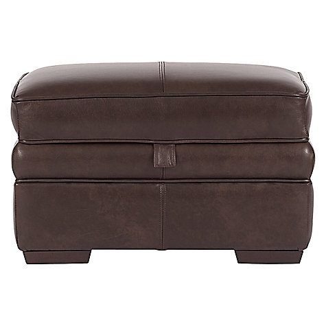 Buy John Lewis Romsey Footstool, Smokey Online at johnlewis.com