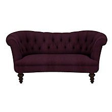 Buy John Lewis Hayworth Medium Chesterfield Sofa, Ruben Blackberry Online at johnlewis.com