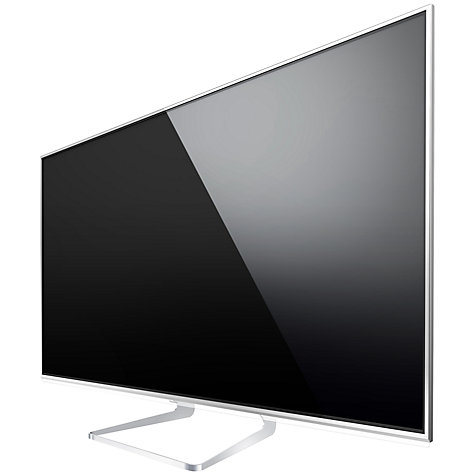 "Buy Panasonic TX-L65WT600 LED 4K Ultra HD 3D Smart TV, 65"", Freeview/Freesat HD with 2x 3D Glasses Online at johnlewis.com"