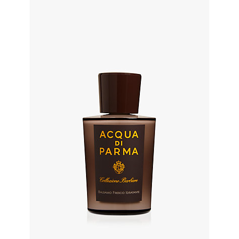 Buy Acqua di Parma Collezione Barbiere Aftershave Balm, 100ml Online at johnlewis.com