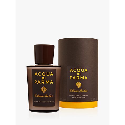 Buy Acqua di Parma Collezione Barbiere After Shave Balm, 100ml Online at johnlewis.com