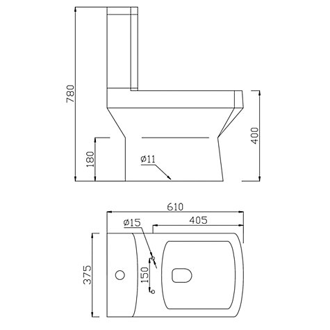 Buy John Lewis Monaco Close Coupled Toilet Set Online at johnlewis.com
