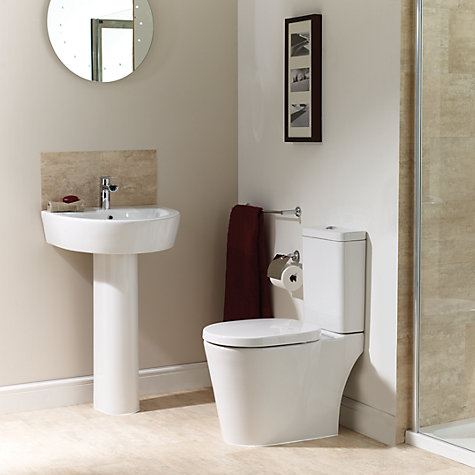 Buy John Lewis Valencia Basin and Pedestal Set, 55cm Online at johnlewis.com