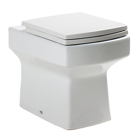 Buy John Lewis Monaco Back to Wall Toilet Set Online at johnlewis.com