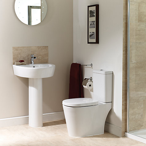 Buy John Lewis Valencia Close Coupled Toilet Set Online at johnlewis.com