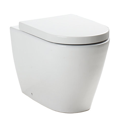 Buy John Lewis Sofia Back to Wall Toilet Set Online at johnlewis.com