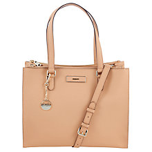 Buy DKNY Saffiano Work Shopper, Tan Online at johnlewis.com