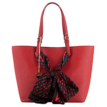 Buy DKNY Saffiano Shopper with Scarf Online at johnlewis.com
