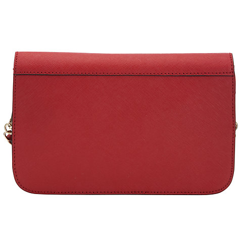 Buy DKNY Saffiano Small Flap Cross Body Bag Online at johnlewis.com