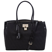 Buy DKNY Town & Country Beekman Work Shopper, Black Online at johnlewis.com
