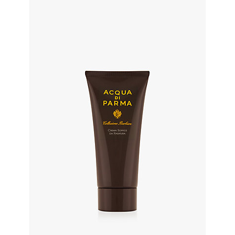 Buy Acqua di Parma Collezione Barbiere Shave Cream Tube, 75ml Online at johnlewis.com