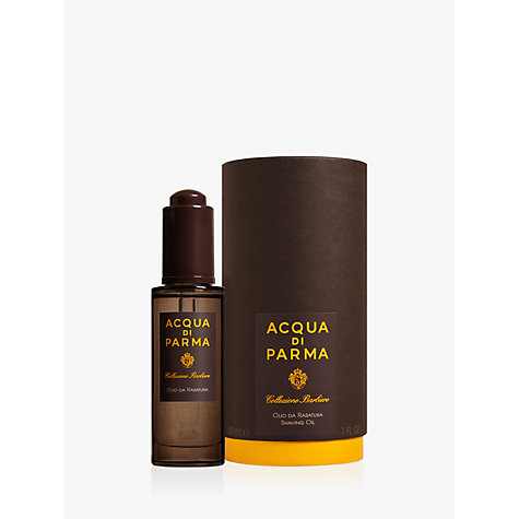 Buy Acqua di Parma Collezione Barbiere Shaving Oil, 30ml Online at johnlewis.com