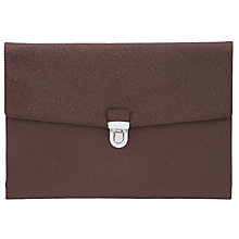 Buy Reiss Shredder Small Fold-Over Document Holder Online at johnlewis.com