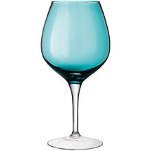 Buy LSA Midi Wine Glass, Pale Peacock, H39cm Online at johnlewis.com