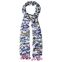 Buy White Stuff Dotty Woodland Scarf, Off White Online at johnlewis.com