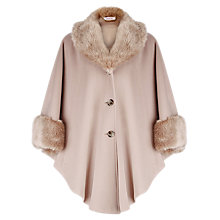 Buy Jacques Vert Palomino Cape, Neutral Online at johnlewis.com