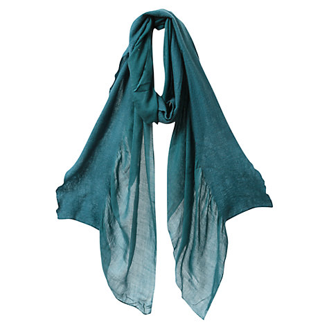 Buy East Wool Frill Scarf, Riverblue Online at johnlewis.com