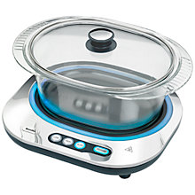 Buy Breville VTP140 Glass Slow Cooker, Stainless Steel Online at johnlewis.com