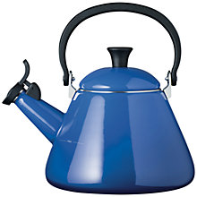 Buy Le Creuset Kone Kettle, 1.6L, Marseille Blue Online at johnlewis.com