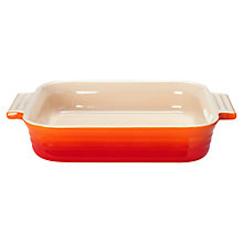 Buy Le Creuset Square Dish, 23cm Online at johnlewis.com
