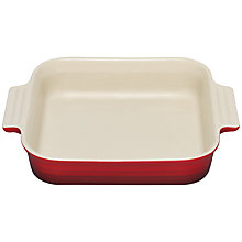 Buy Le Creuset Stoneware Square Dish, 23cm Online at johnlewis.com