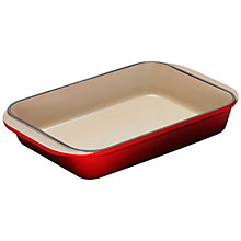 Buy Le Creuset Rectangular Dish, 30cm Online at johnlewis.com