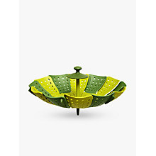Buy Joseph Joseph Lotus Steamer Plus, Green Online at johnlewis.com