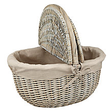 Buy John Lewis Lined Hamper Online at johnlewis.com