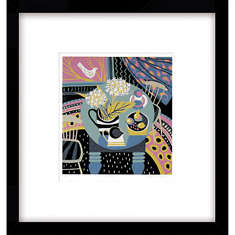 Buy Jane Walker - Two Chairs Limited Edition Framed Linocut, 53 x 50cm Online at johnlewis.com