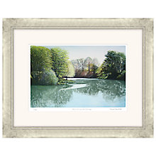 Buy Frances St Clair Miller - Spring Morning on the River Wye, Limited Edition Etching and Aquatint, Framed, 72 x 91cm Online at johnlewis.com