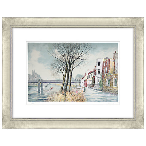 Buy Jeremy King - Kew Railway Bridge Limited Edition Framed Etchings, 80 x 99cm Online at johnlewis.com
