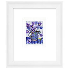 Buy Jenny Devereux - Violas, Limited Edition Hand-Coloured Etching, Framed, 44 x 38cm Online at johnlewis.com