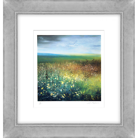 Buy Amanda Hoskin - Autumn Field Bodmin Moor Limited Edition Framed Screen Print, 65 x 62cm Online at johnlewis.com