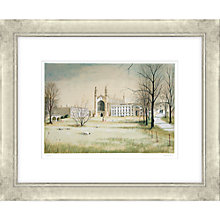 Buy Jeremy King - King's College Cambridge Limited Edition Framed Etching 75 x 89cm Online at johnlewis.com
