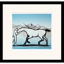 Buy Trevor Price - The Horse Whisperer Limited Edition Framed Etching, 68 x 70cm Online at johnlewis.com