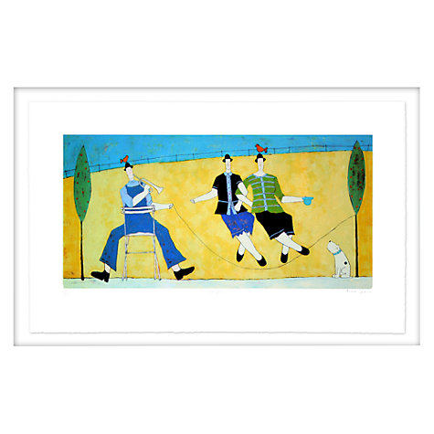 Buy Annora Spence - The Skipping Rope Limited Edition Framed Screenprint, 64 x 97cm Online at johnlewis.com