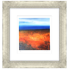 Buy Amanda Hoskin -  Autumn Reds, Cornish Moorland Limited Edition Framed Screenprint, 65 x 62cm Online at johnlewis.com