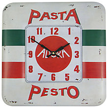 Buy Lascelles Pesto Wall Clock, Dia.31cm Online at johnlewis.com